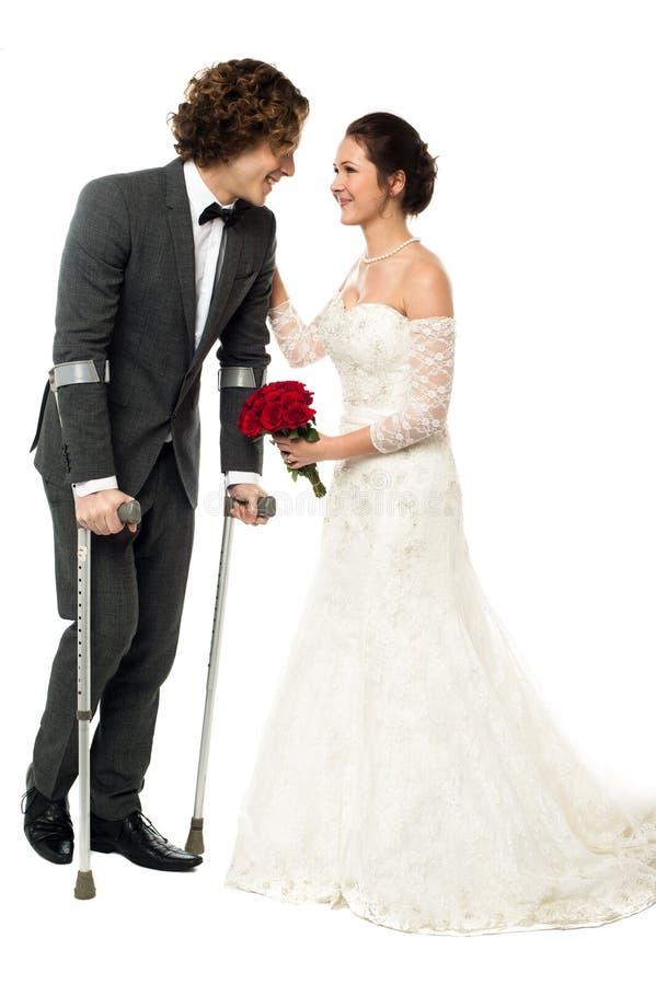 Amor, eu sou orgulhoso ser sua esposa. imagens de stock royalty free