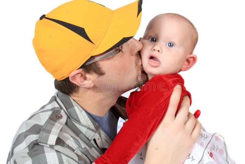 Amor Fatherly imagens de stock