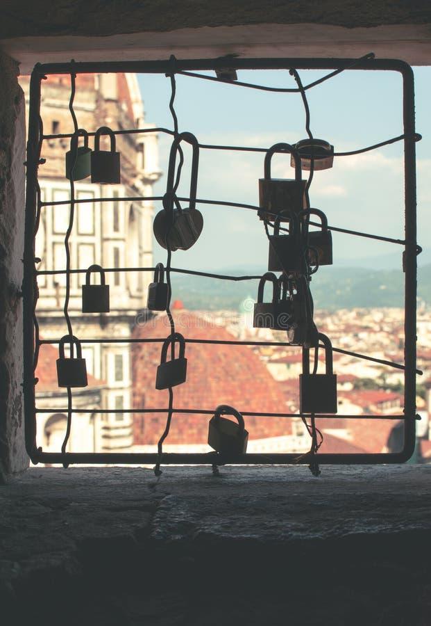 Amor Florencia foto de archivo