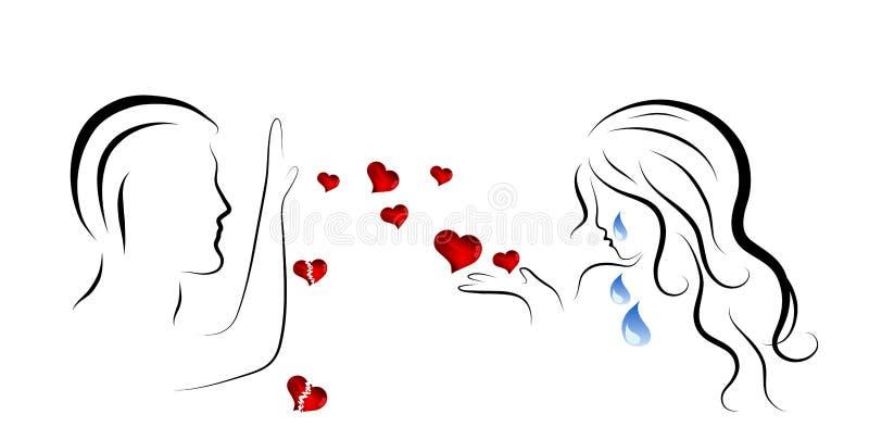 Amor infeliz libre illustration