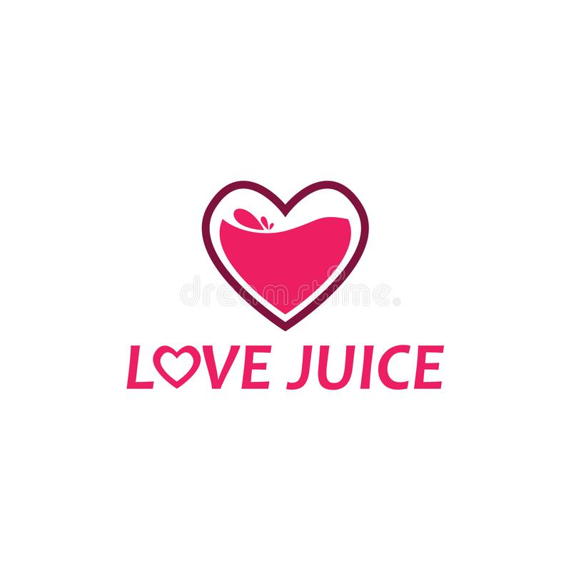 Amor Juice Logo libre illustration