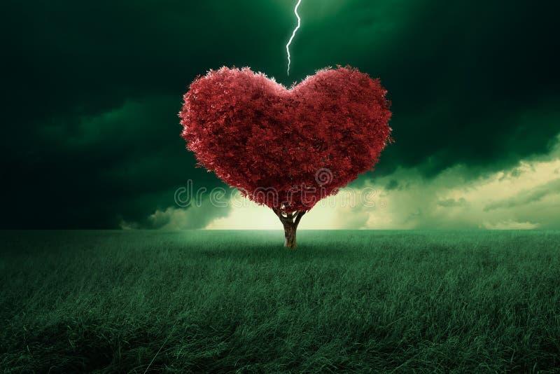 Amor na primeira vista ilustração do vetor