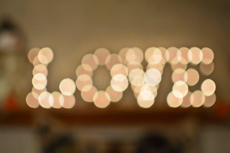 Amor nas luzes fotos de stock