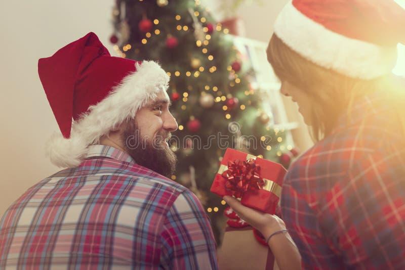 Amor no Natal imagens de stock royalty free