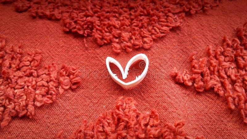 Amor no vermelho foto de stock royalty free