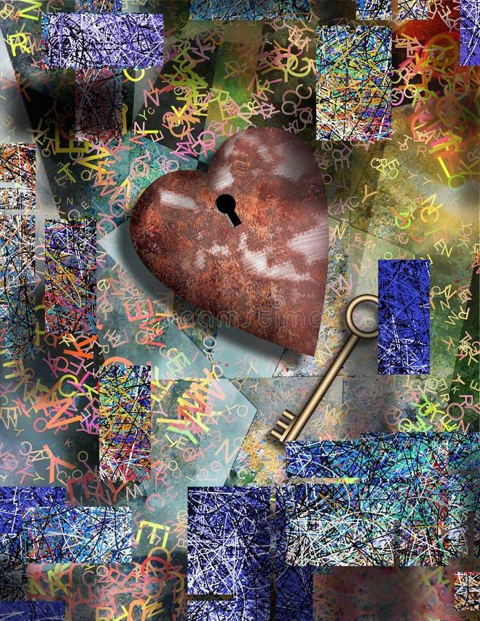 Amor oxidado foto de stock