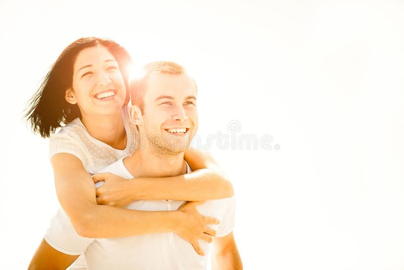 Amor - par novo fotografia de stock royalty free
