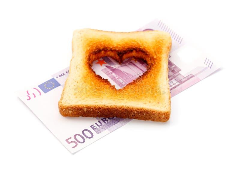 Amor para el dinero fotos de archivo libres de regalías