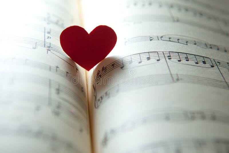 Amor para la música fotos de archivo libres de regalías