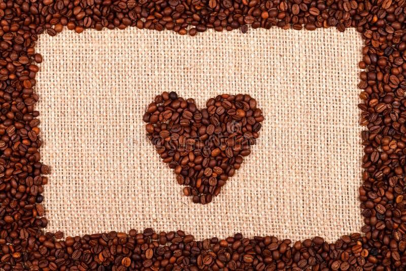 Amor para o café imagem de stock