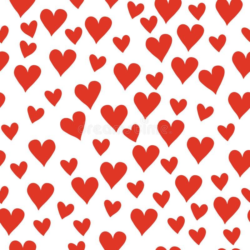 Amor vermelho do vetor ilustração stock