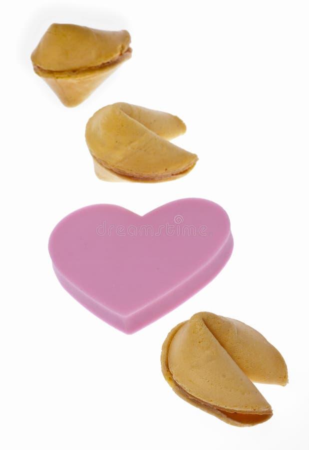 Amor y fortuna imagen de archivo
