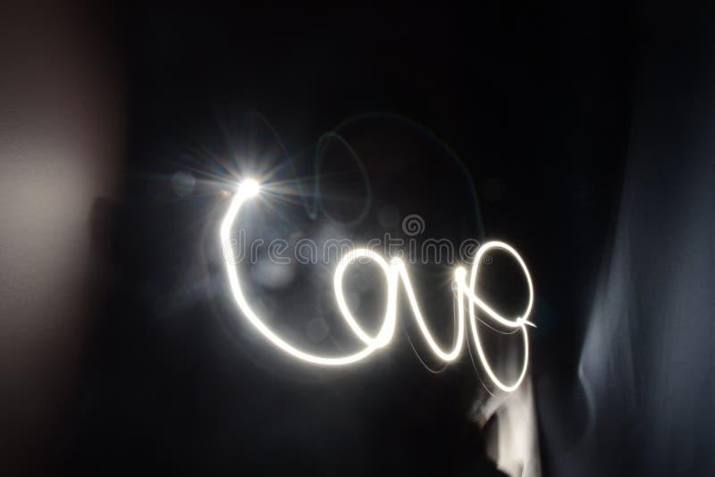 Amor y luz imagen de archivo