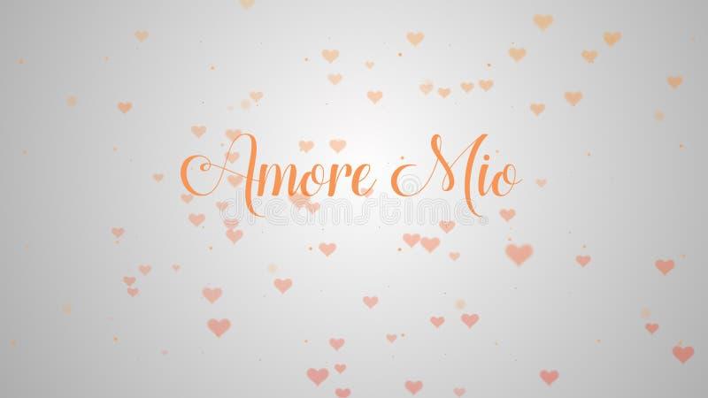 Amore εκατομμύρισσα ομολογία αγάπης Καρδιά ημέρας βαλεντίνου φιαγμένη από ρόδινο παφλασμό που απομονώνεται σε ανοικτό ροζ που εξω ελεύθερη απεικόνιση δικαιώματος