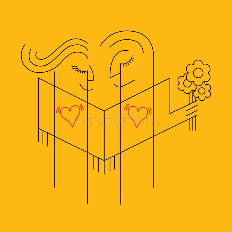 Amore illustrazione di stock