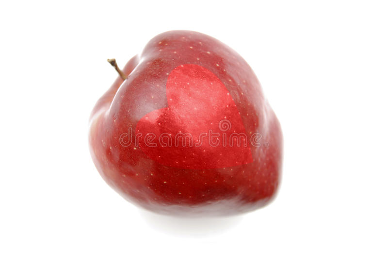 Amore Apple fotografie stock