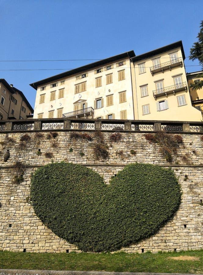 Amore a Bergamo immagini stock libere da diritti