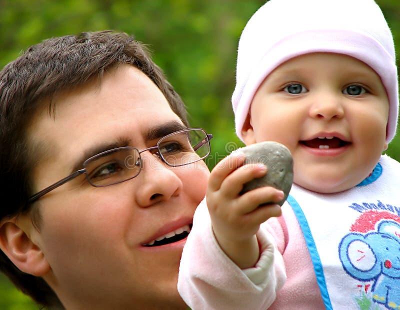 amore del padre immagini stock libere da diritti