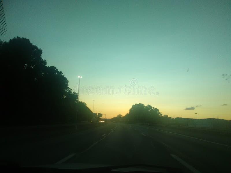Amore del tramonto fotografia stock libera da diritti