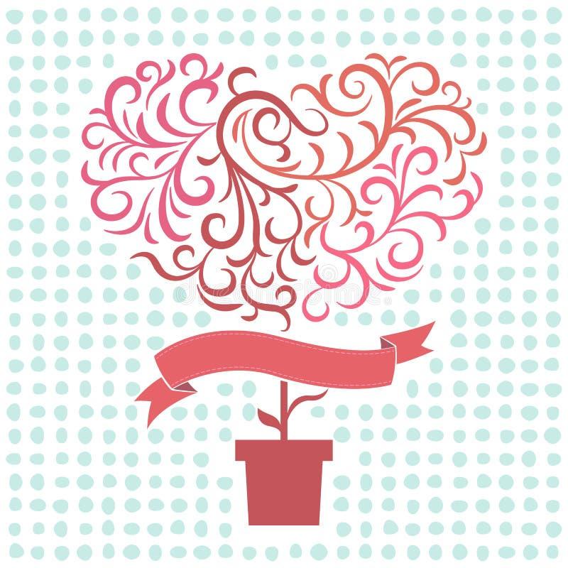 Amore dell'albero immagini stock libere da diritti