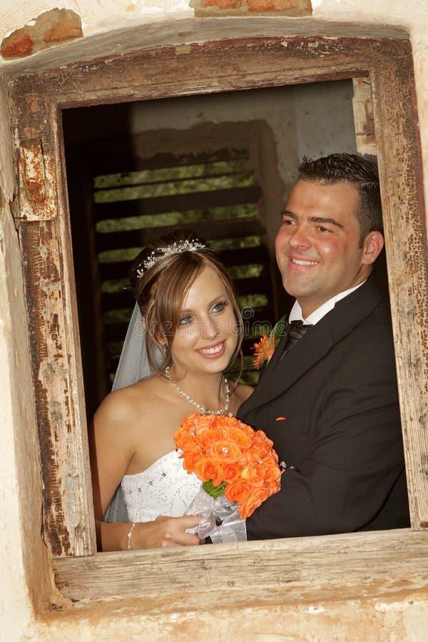Amore della finestra fotografia stock libera da diritti