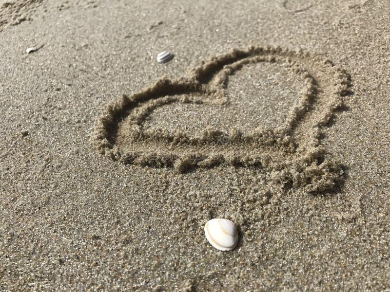 Amore della spiaggia immagine stock libera da diritti
