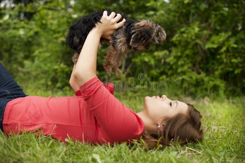 Amore di cucciolo immagini stock