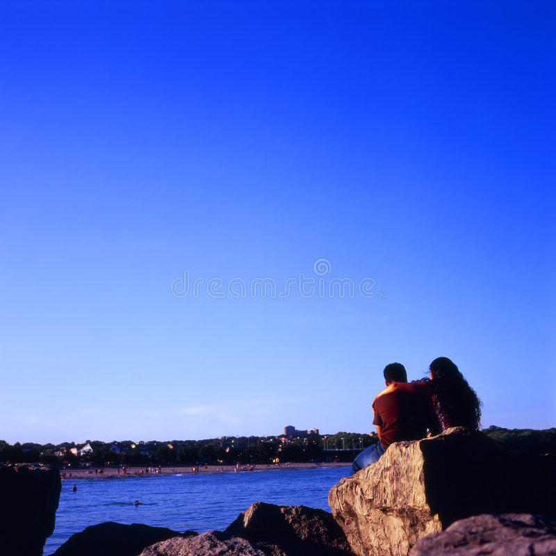 Amore di estate fotografie stock