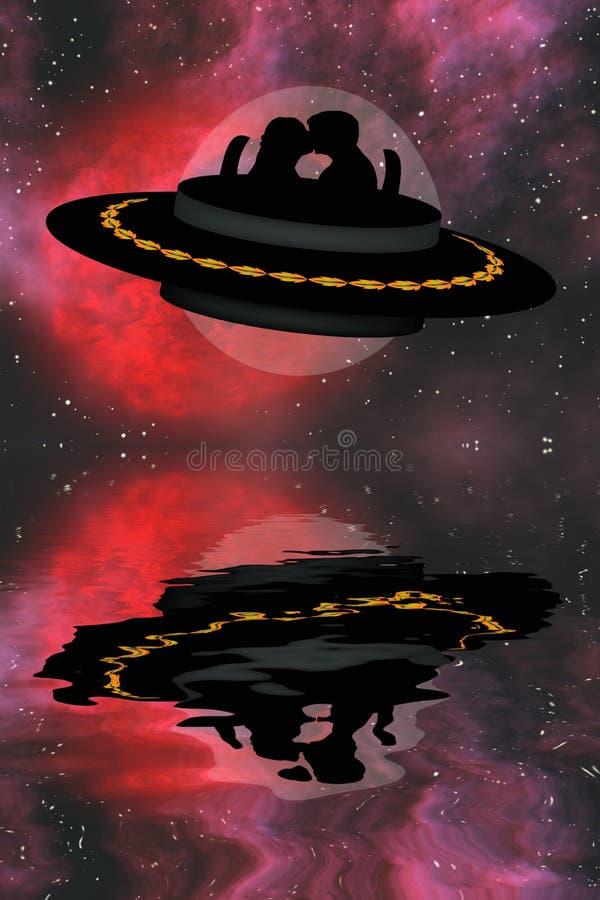 Download Amore di fantasia illustrazione di stock. Illustrazione di coppie - 7306312