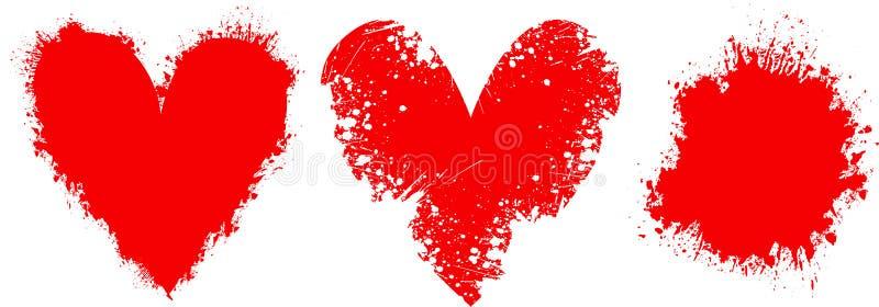 Download Amore di Grunge illustrazione vettoriale. Illustrazione di sudicio - 208842