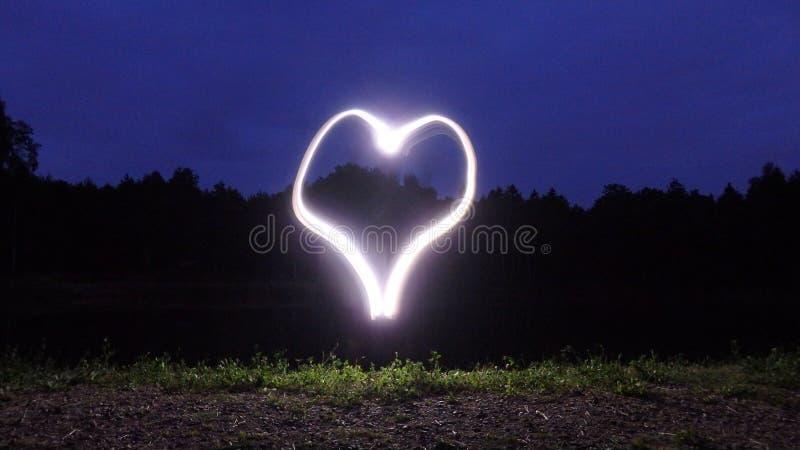 Amore di notte immagini stock libere da diritti