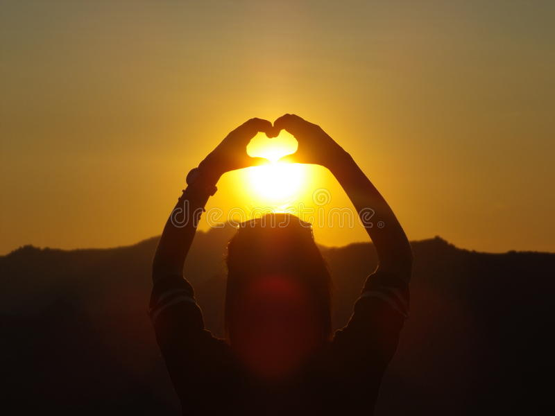 Amore di Sun immagini stock libere da diritti