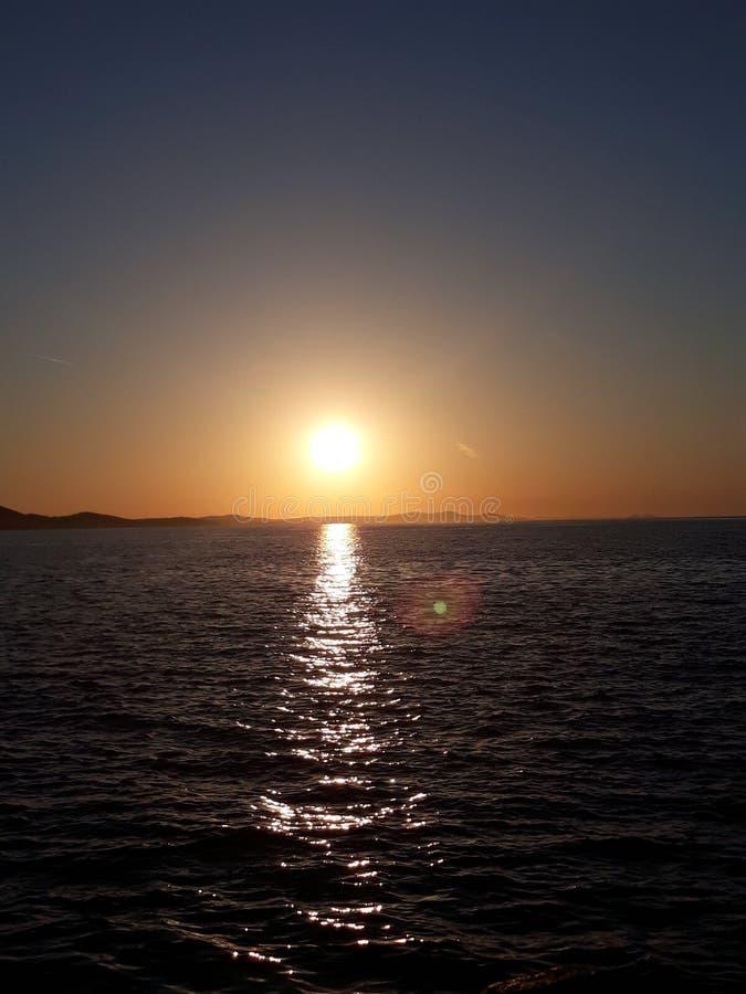 Amore di tramonto fotografie stock