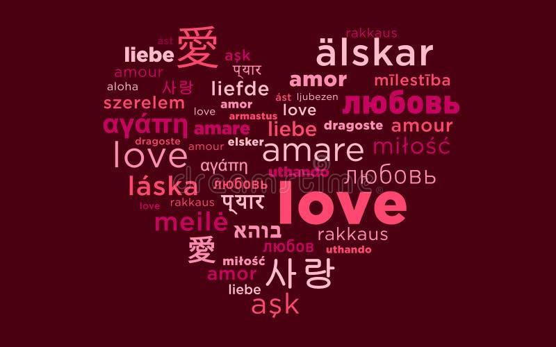 Amore do amor do amor ilustração royalty free
