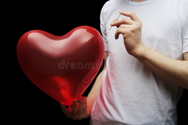 Amore esplosivo immagini stock