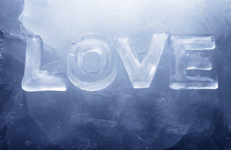 Amore freddo fotografia stock