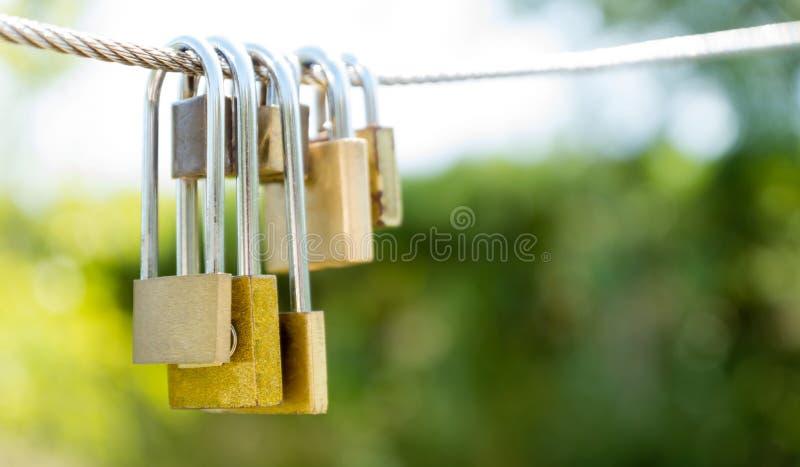 Amore Locked immagine stock