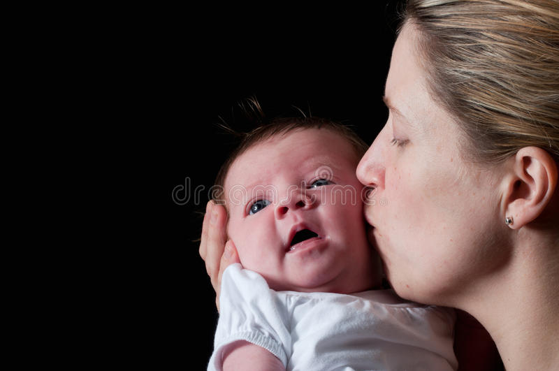 Amore Motherly fotografie stock