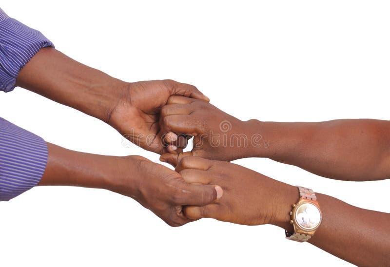 Amore nel linguaggio dei segni fotografia stock libera da diritti
