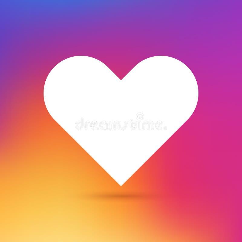 Amore-parola-cuore illustrazione di stock