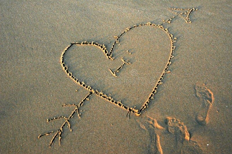 Download Amore sulla spiaggia fotografia stock. Immagine di amore - 210586