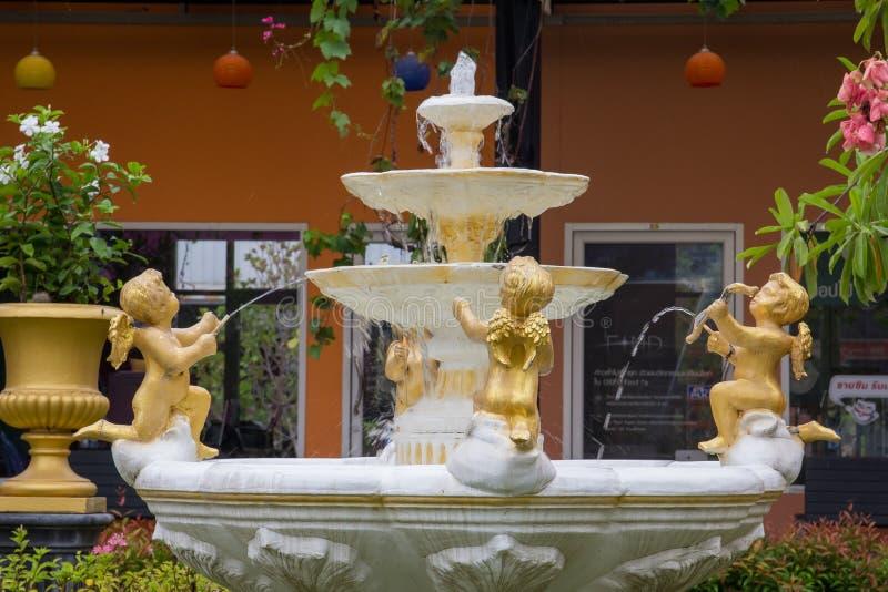 Amorek fontanna zdjęcie stock