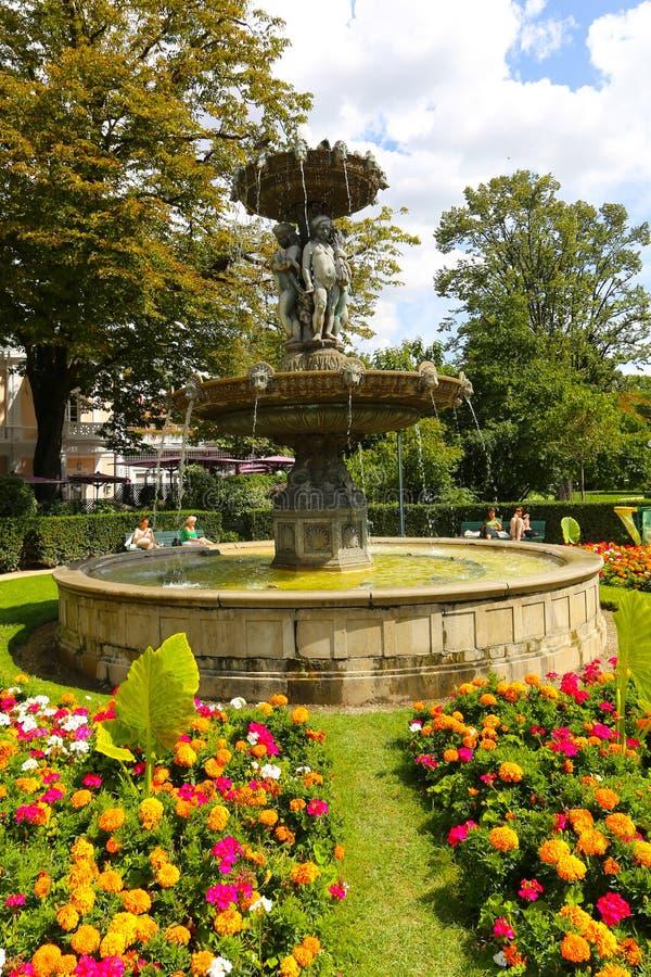 Amorek fontanna - Paryż zdjęcia royalty free