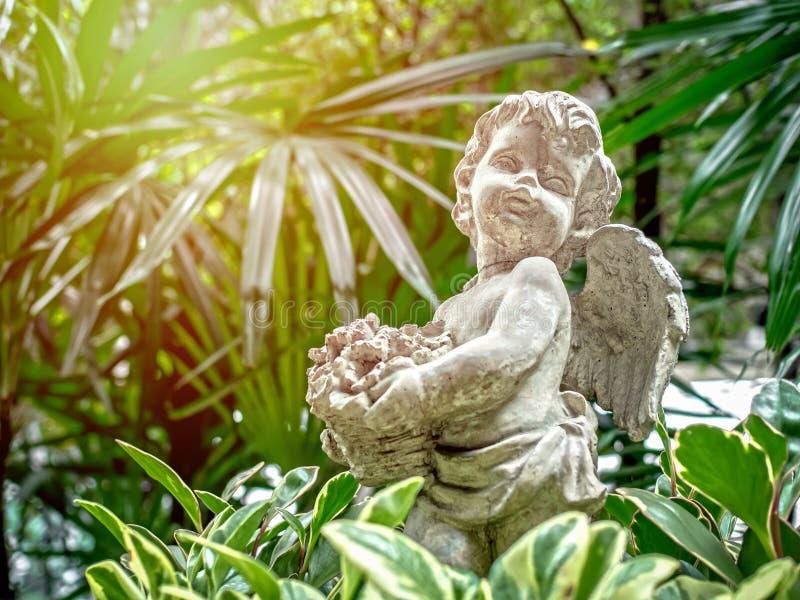 Amorek statua obraz stock