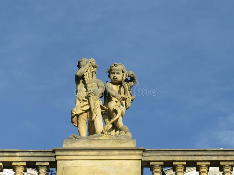 Amorek syn Wenus w Klasycznej mitologii obraz royalty free
