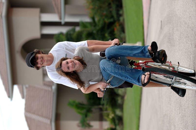 Amores de Highschool imagen de archivo