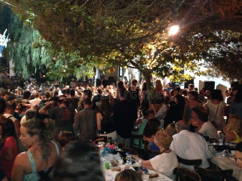 Amorgos, Киклады, Греция стоковые фотографии rf