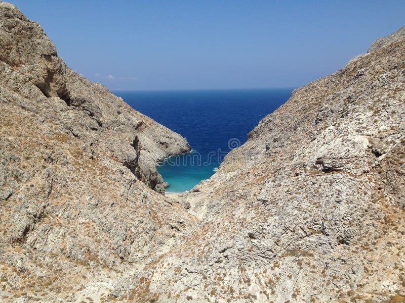 Amorgos, Cycladen, Griekenland stock foto