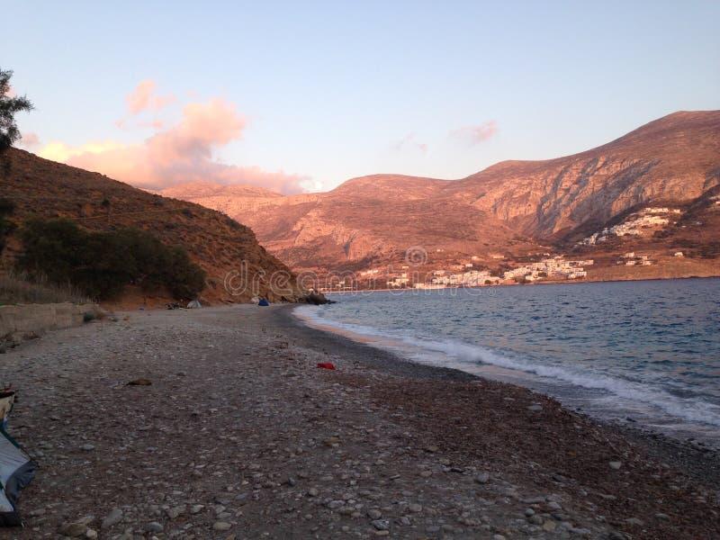 Amorgos, Cycladen, Griekenland royalty-vrije stock afbeeldingen