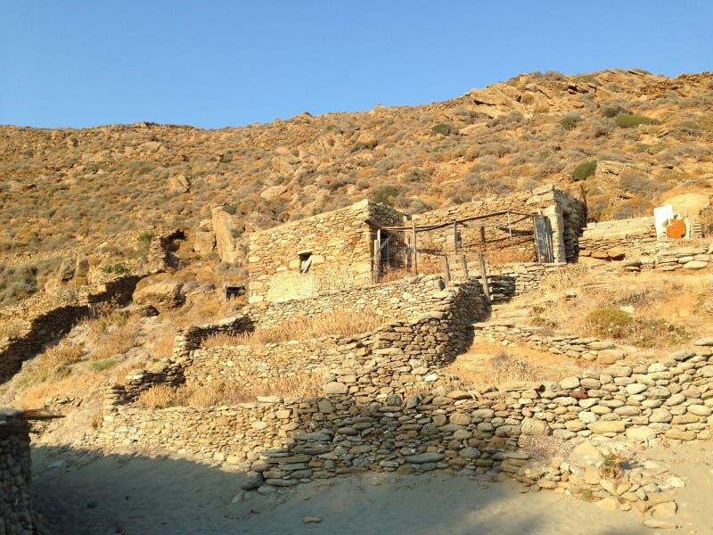 Amorgos, Cycladen, Griekenland stock afbeelding
